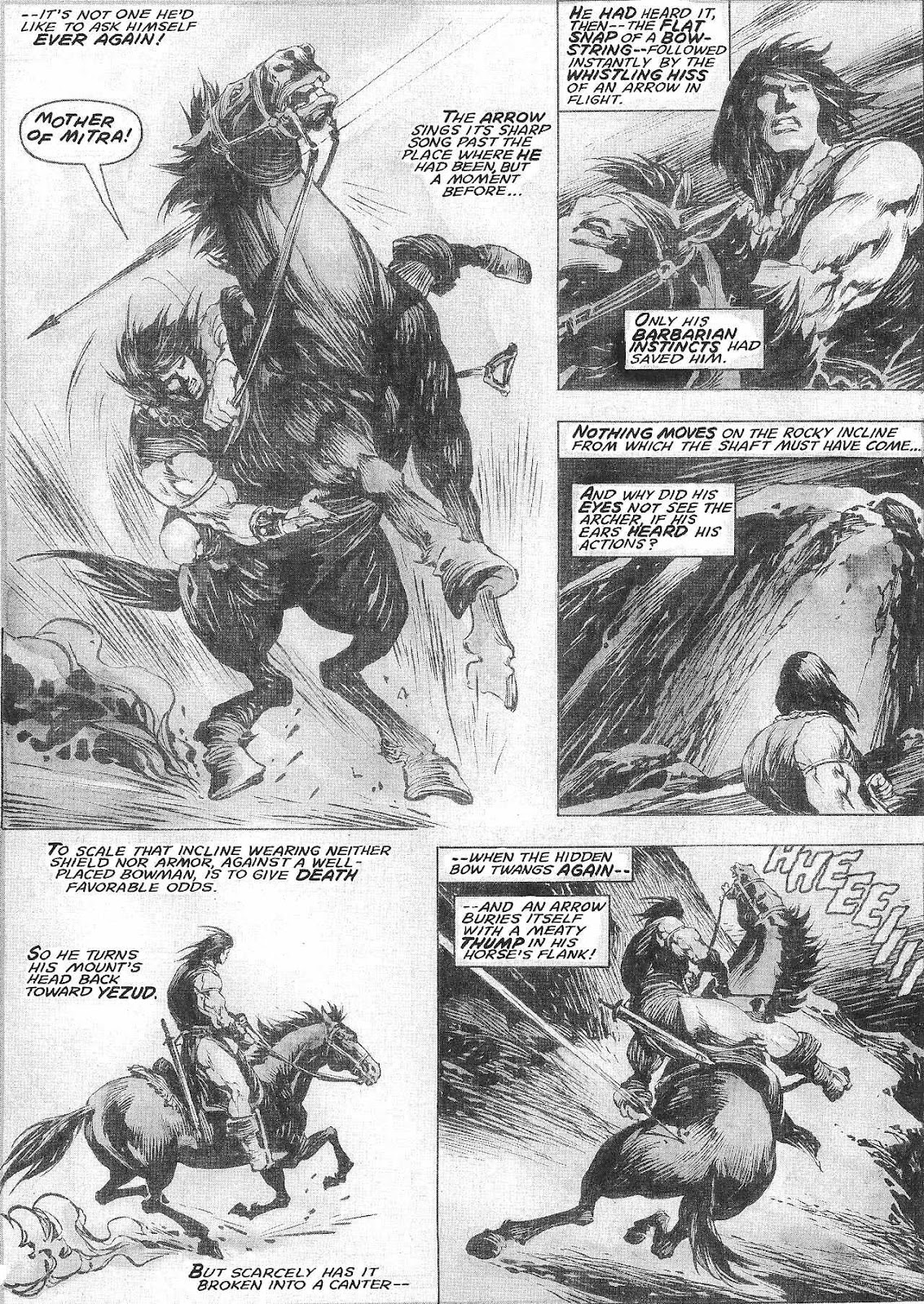The Savage Sword Of Conan Issue #209 #210 - English 25