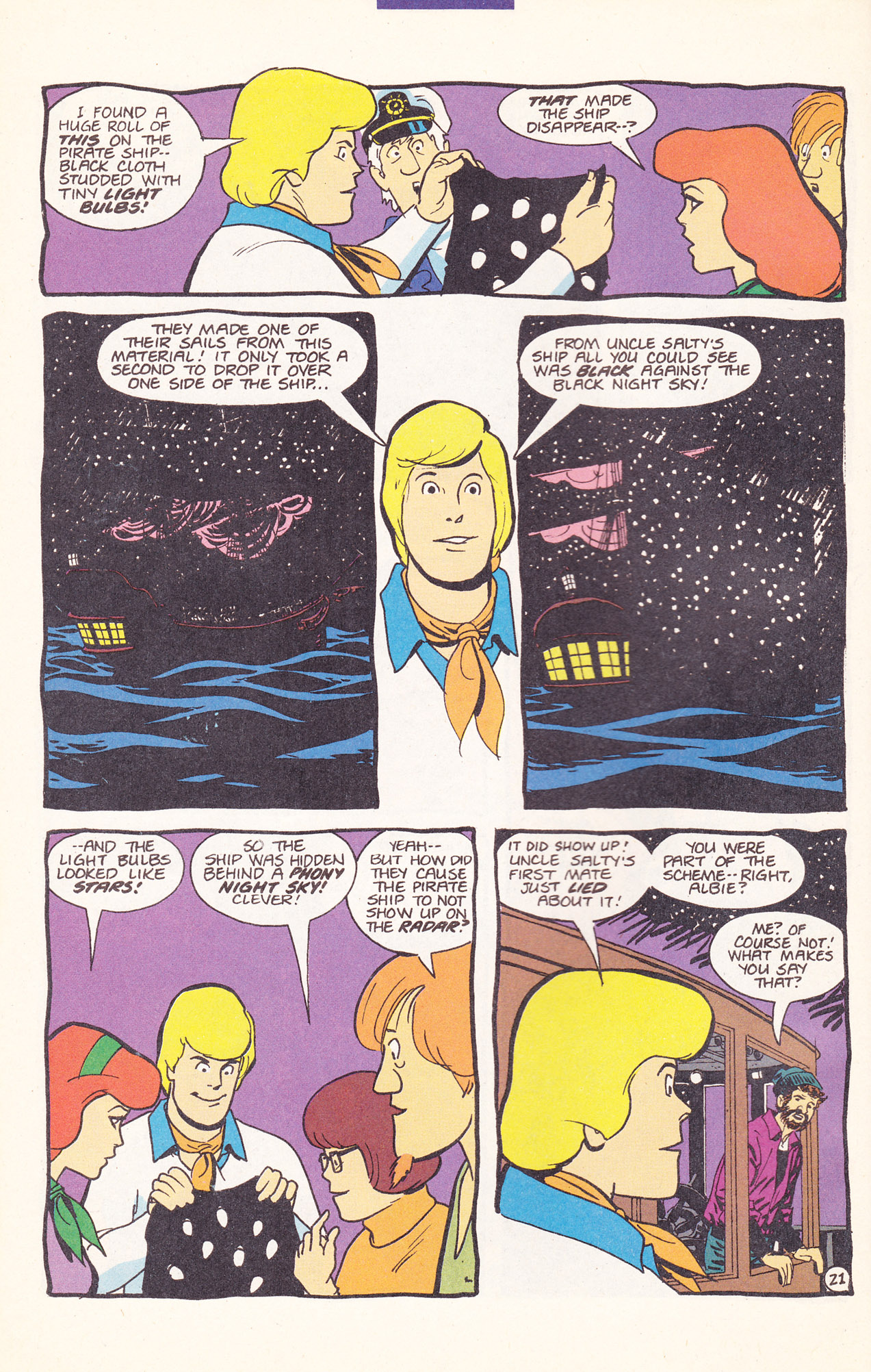Read online Scooby-Doo (1995) comic -  Issue #17 - 32