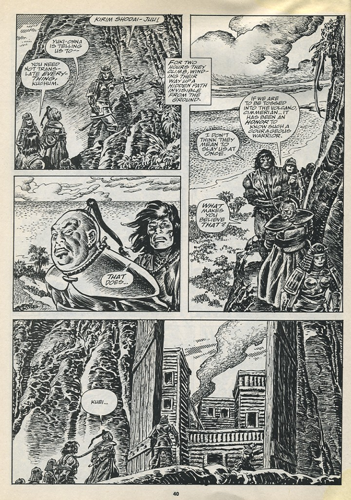 The Savage Sword Of Conan Issue #194 #195 - English 42