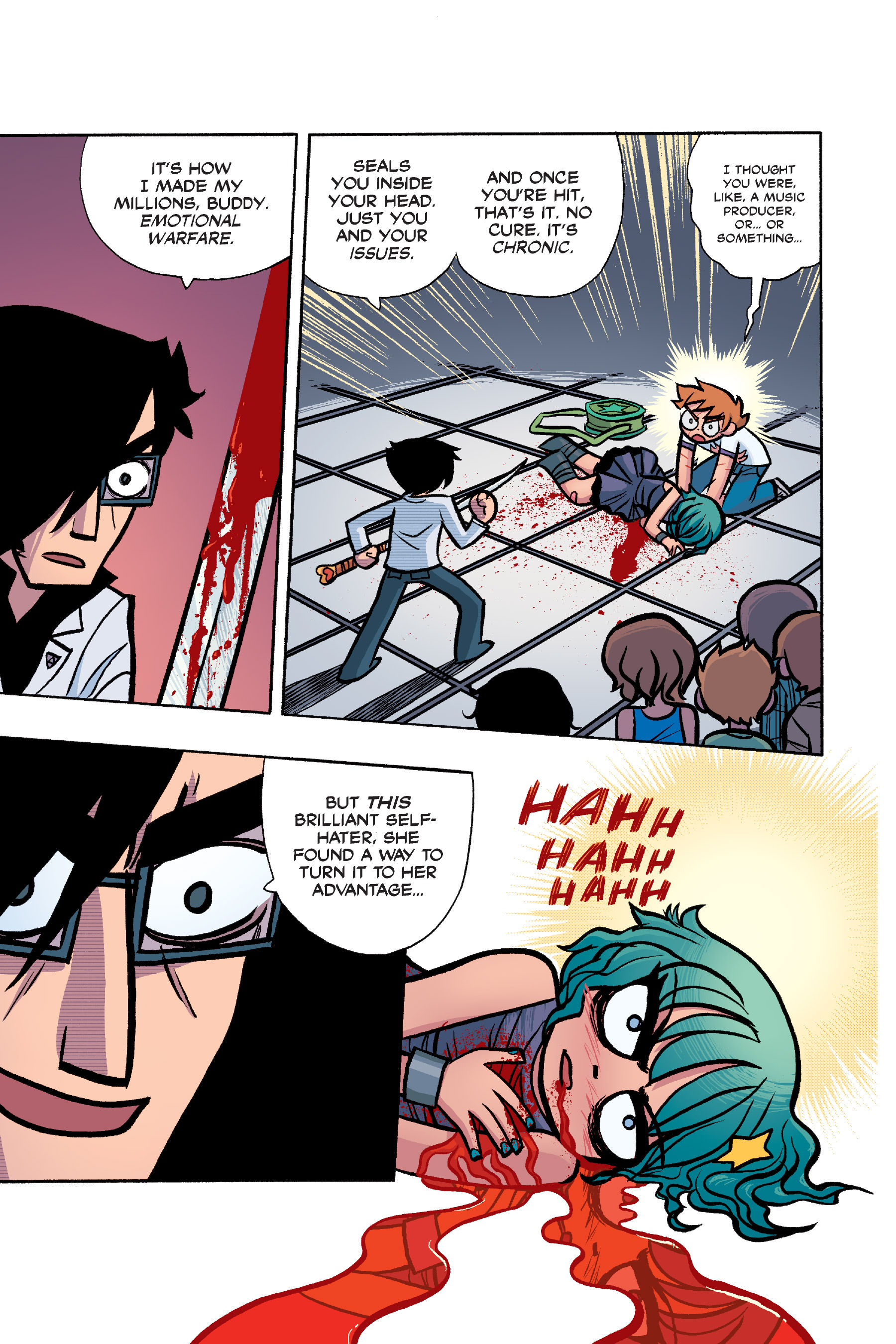 Read online Scott Pilgrim comic -  Issue #6 - 160