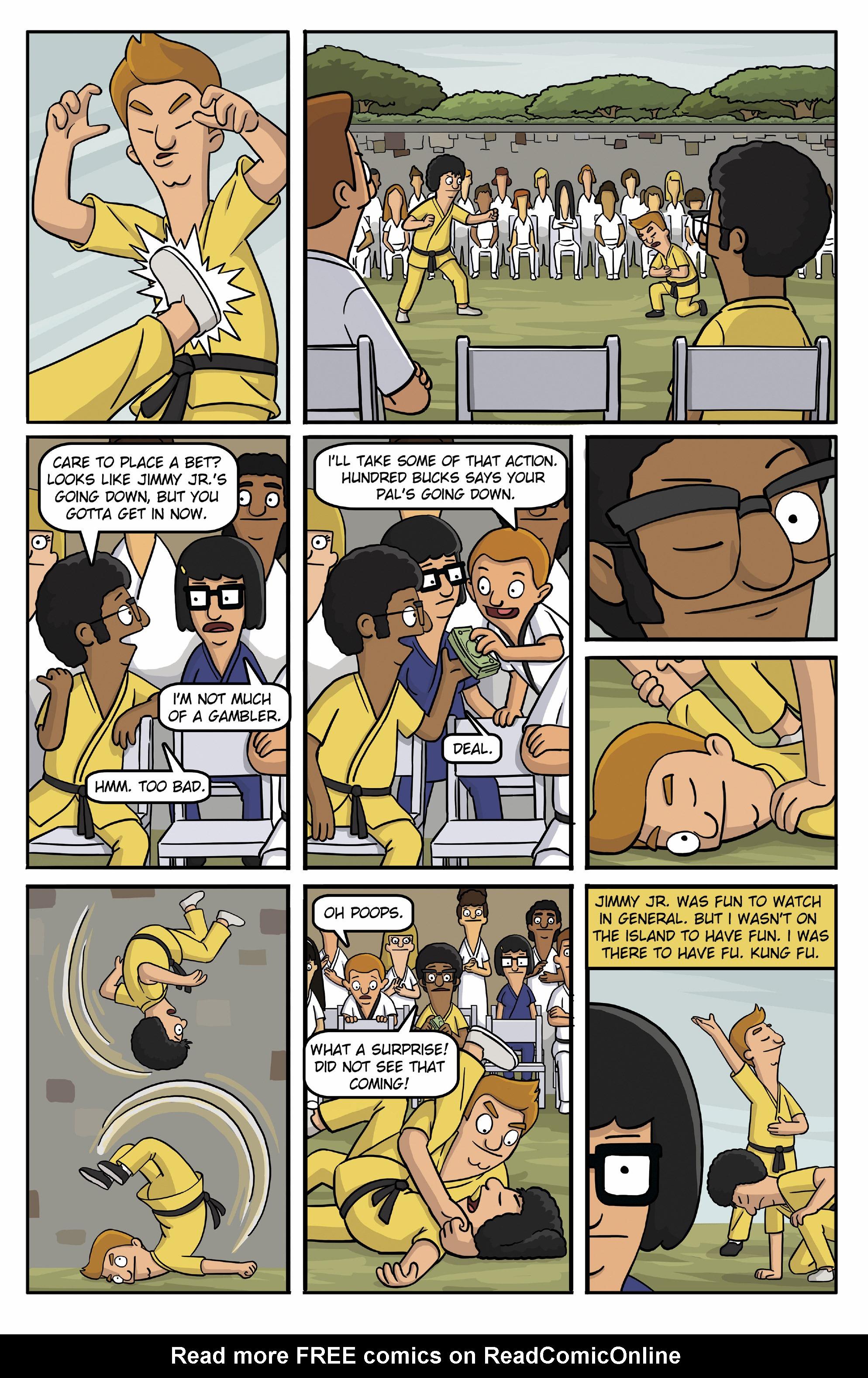 Read online Bob's Burgers (2015) comic -  Issue #13 - 9