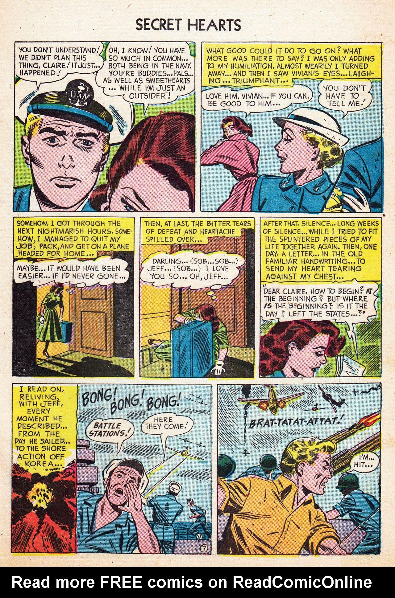 Read online Secret Hearts comic -  Issue #13 - 33