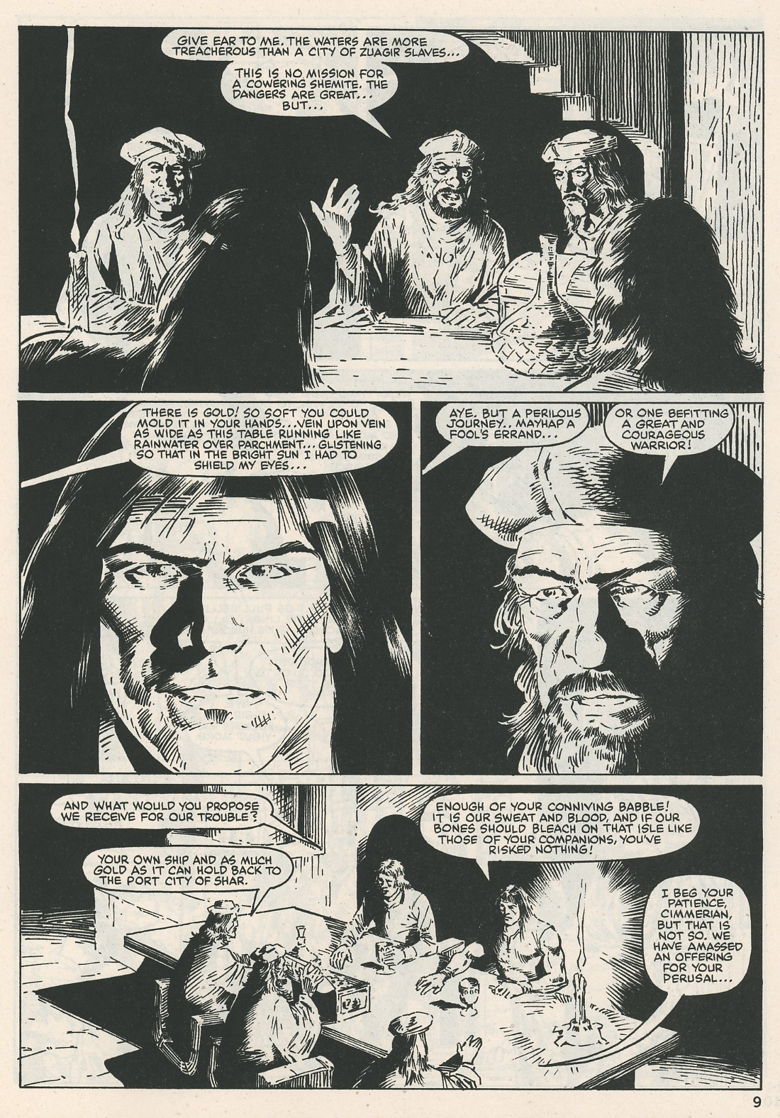 The Savage Sword Of Conan Issue #115 #116 - English 9