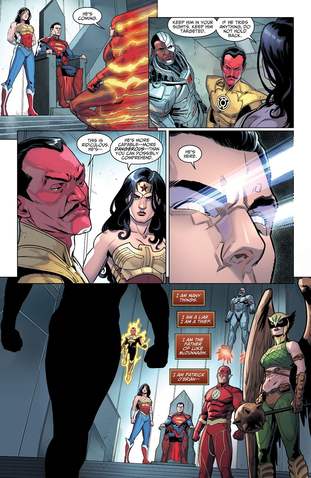 Injustice: Gods Among Us Year Four _Annual 1 #1 - English 10