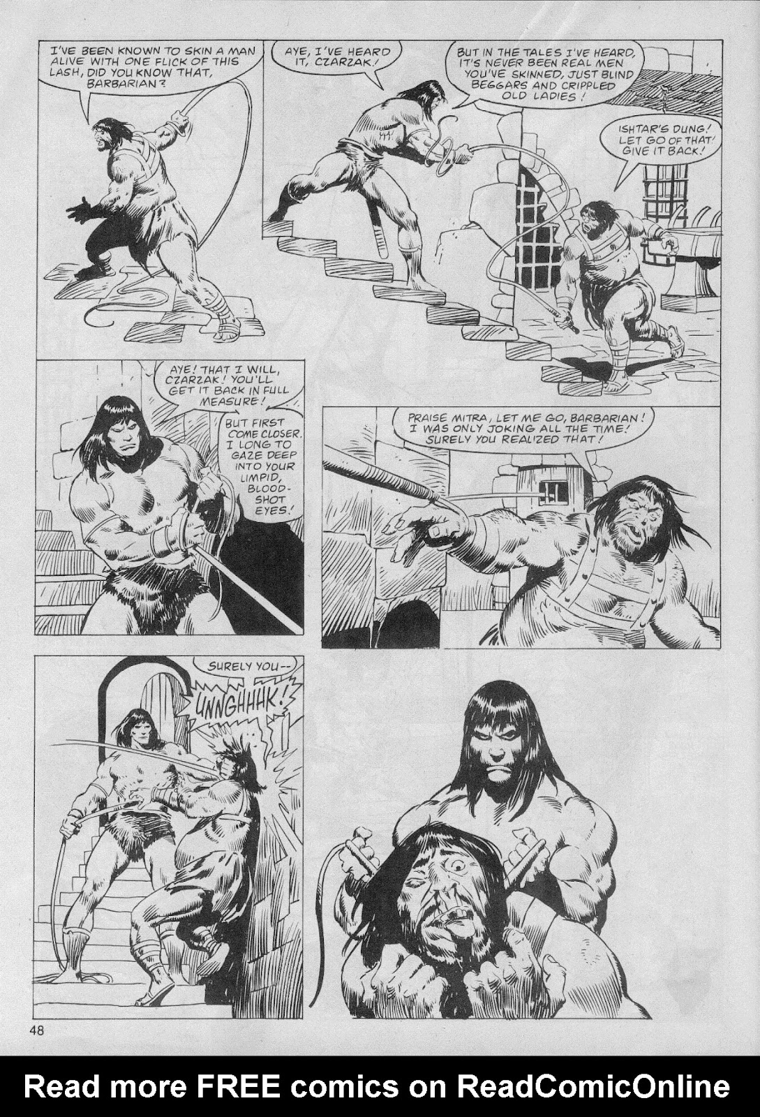 The Savage Sword Of Conan Issue #61 #62 - English 48