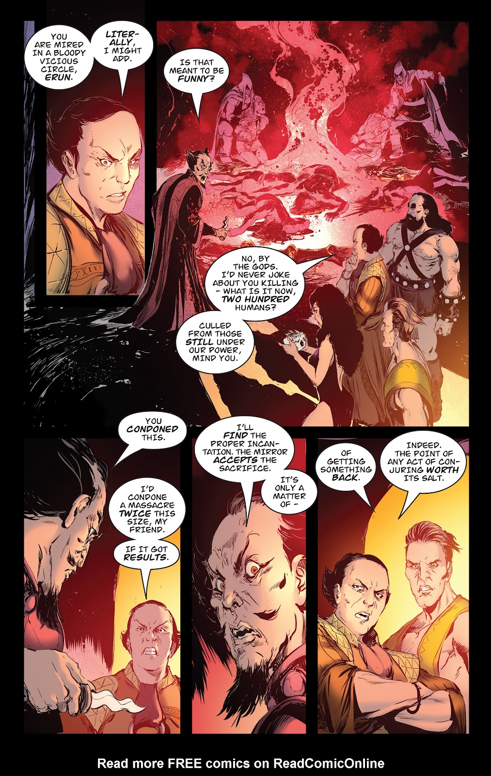 Queen of Vampires Issue #7 #7 - English 12