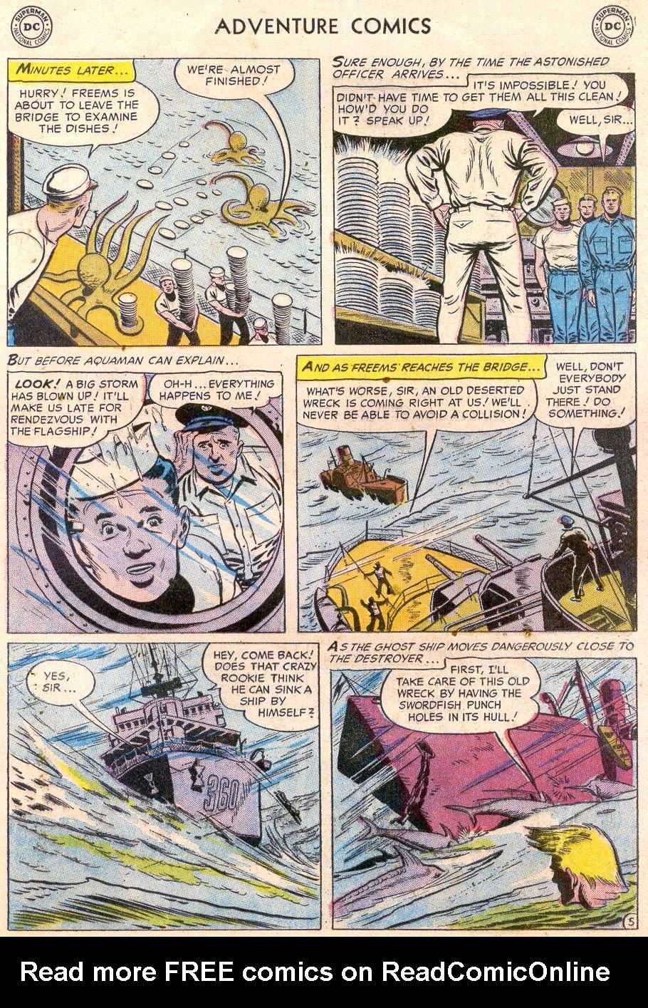 Read online Adventure Comics (1938) comic -  Issue #232 - 21