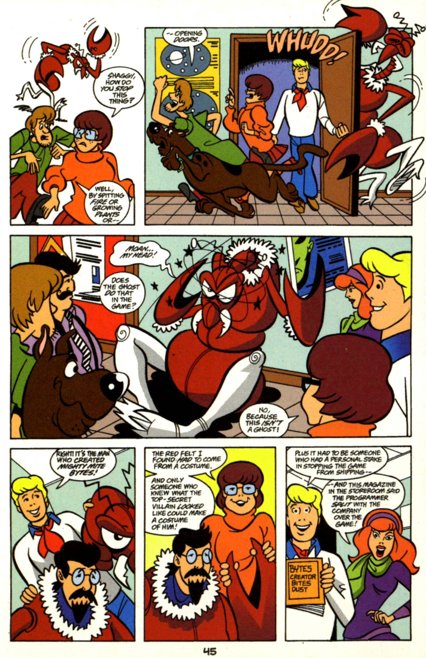 Read online Scooby-Doo (1997) comic -  Issue #17 - 22