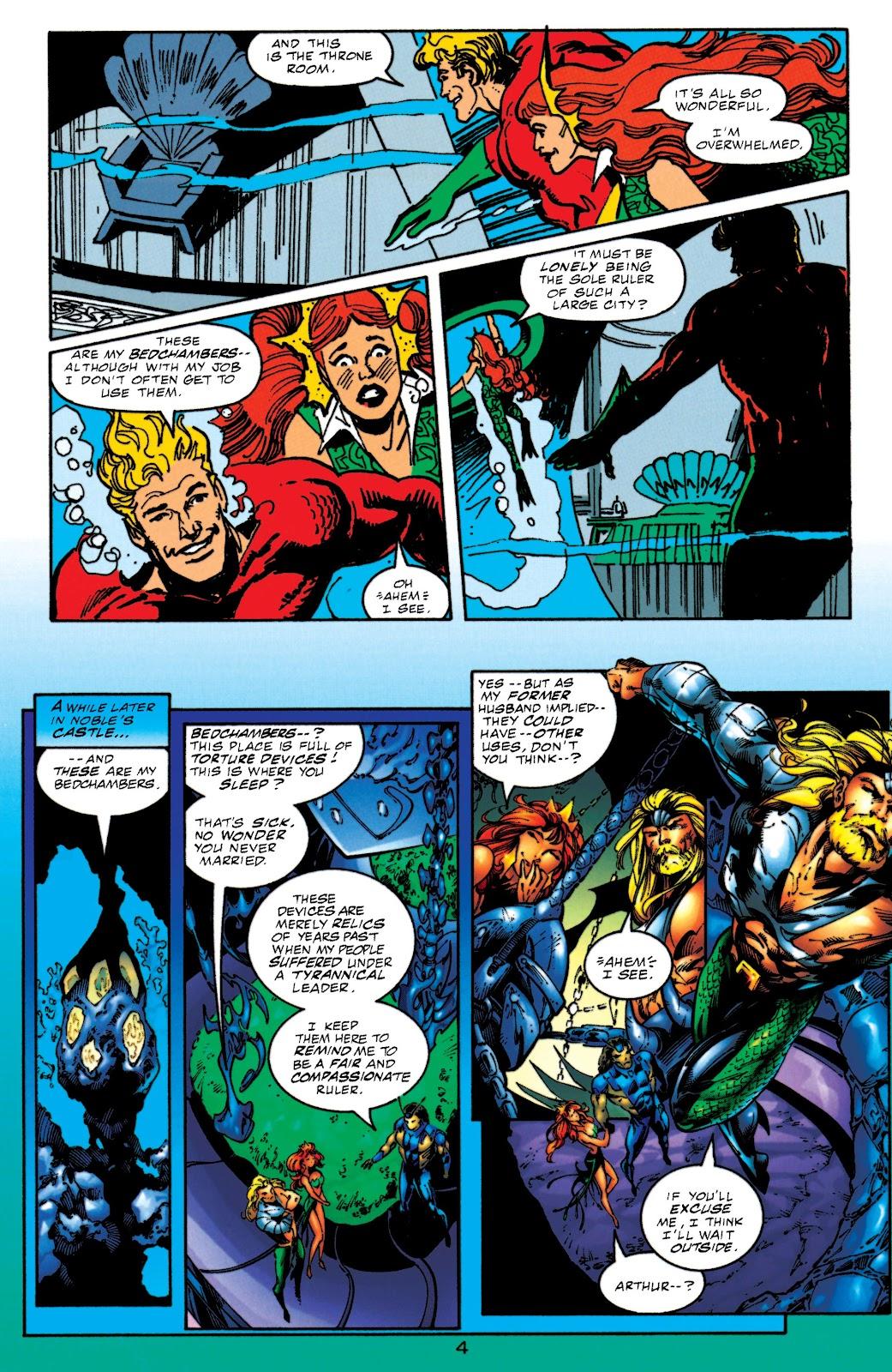 Aquaman (1994) Issue #52 #58 - English 4