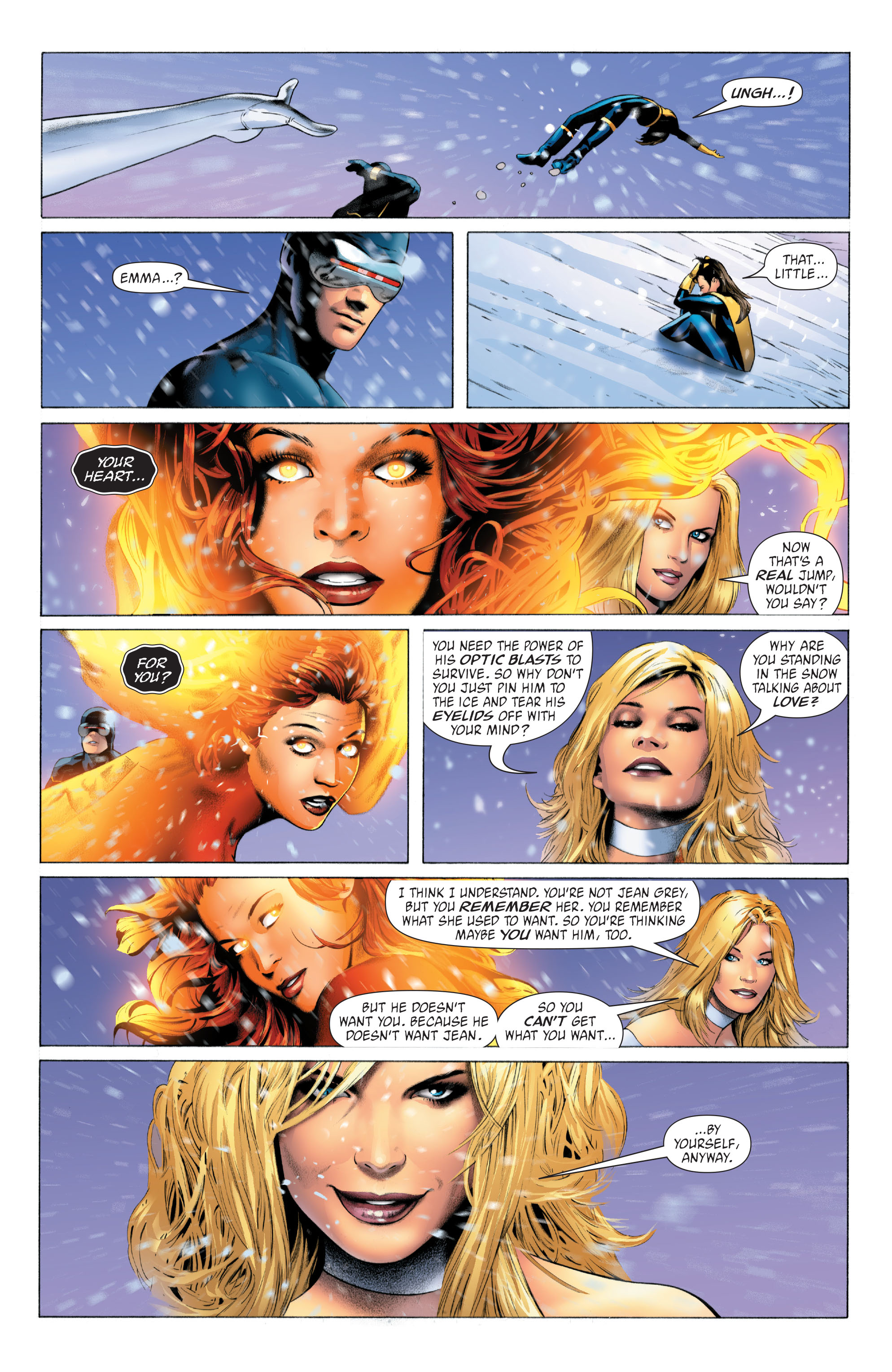 Read online X-Men: Phoenix - Endsong comic -  Issue #4 - 11