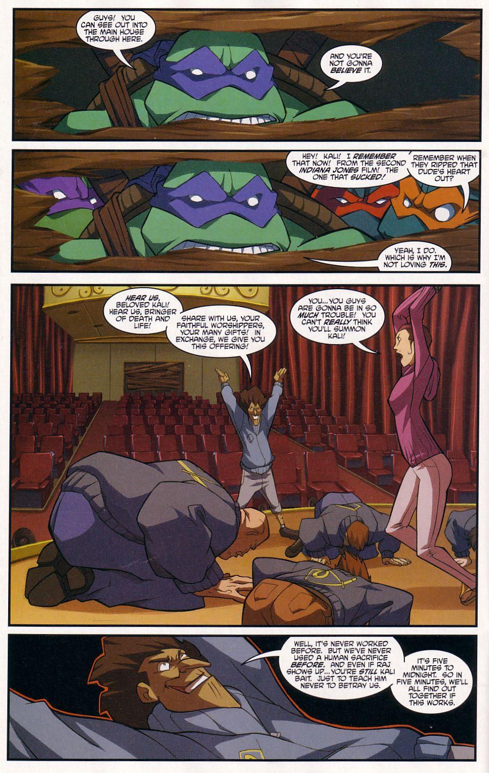 Teenage Mutant Ninja Turtles (2003) chap 7 pic 16