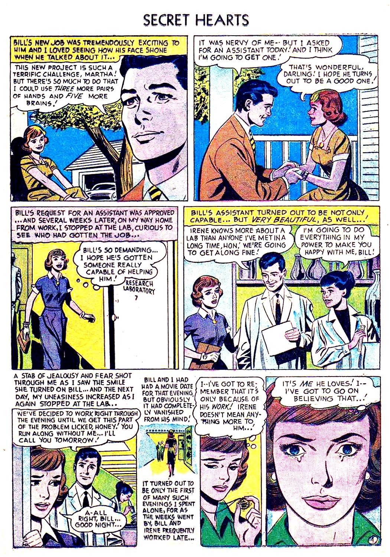 Read online Secret Hearts comic -  Issue #41 - 13