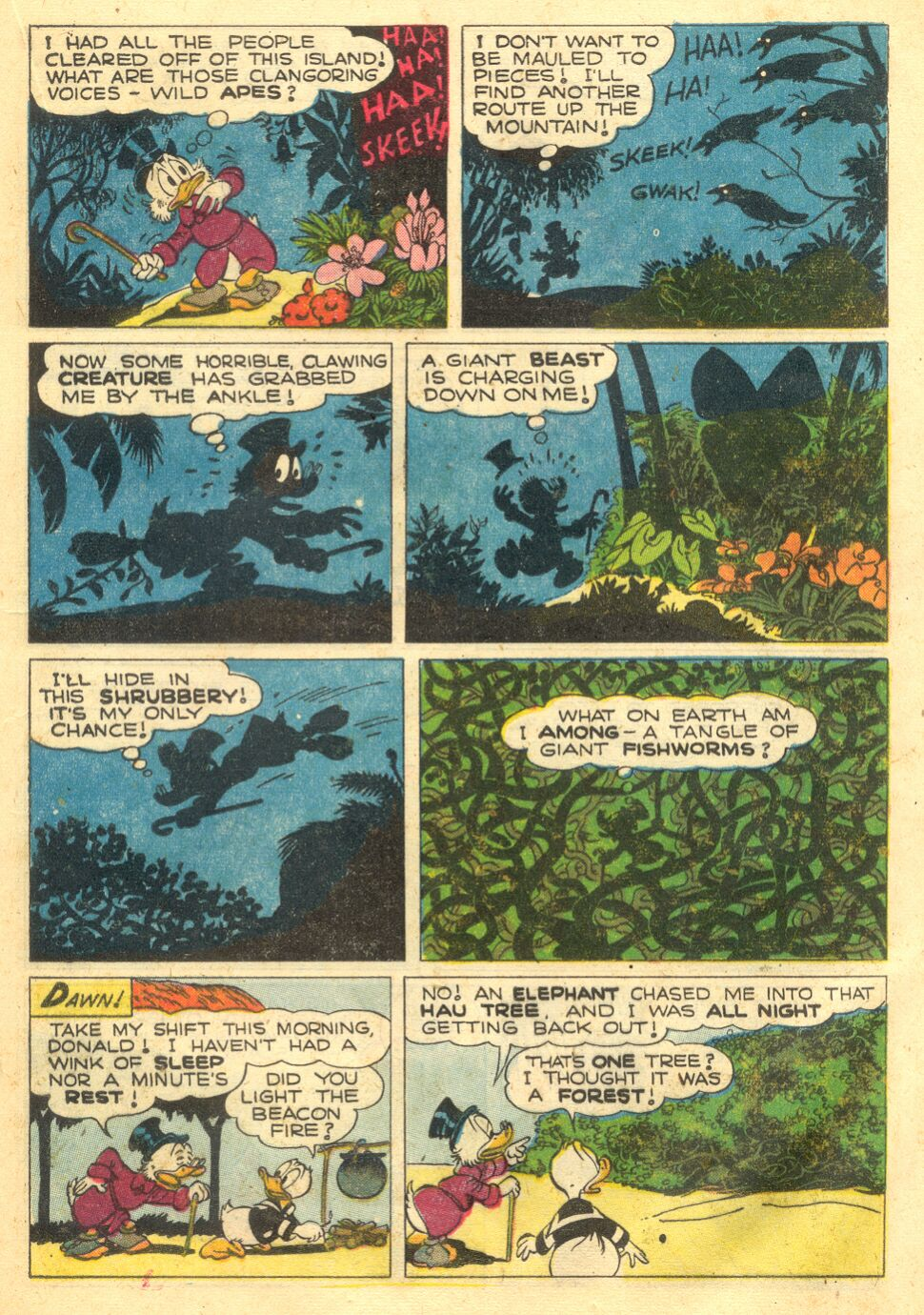 Uncle Scrooge (1953) Issue #4 #4 - English 21