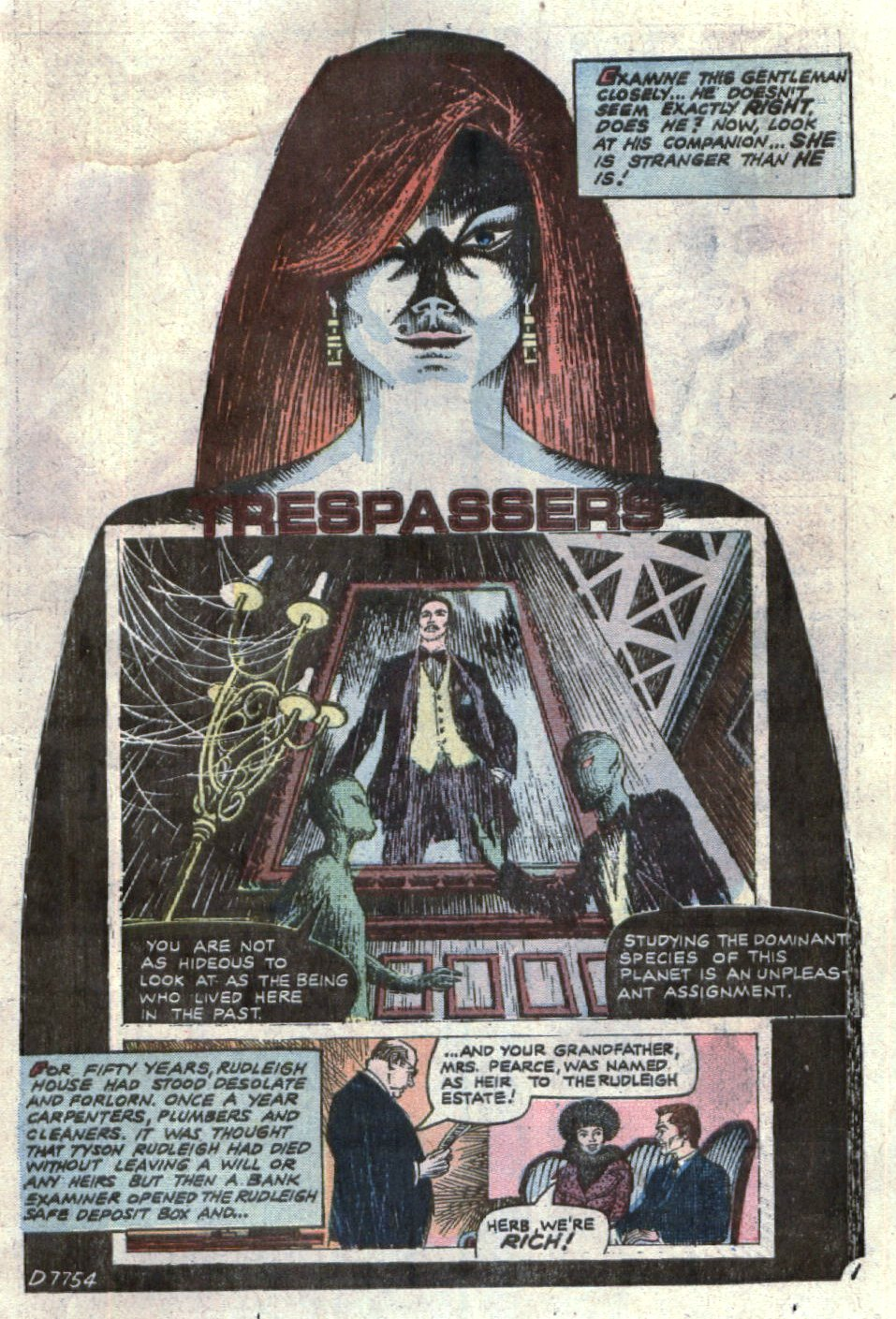 Read online Scary Tales comic -  Issue #7 - 11