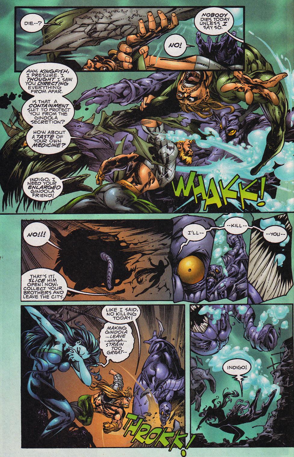 Aquaman (1994) Issue #59 #65 - English 21