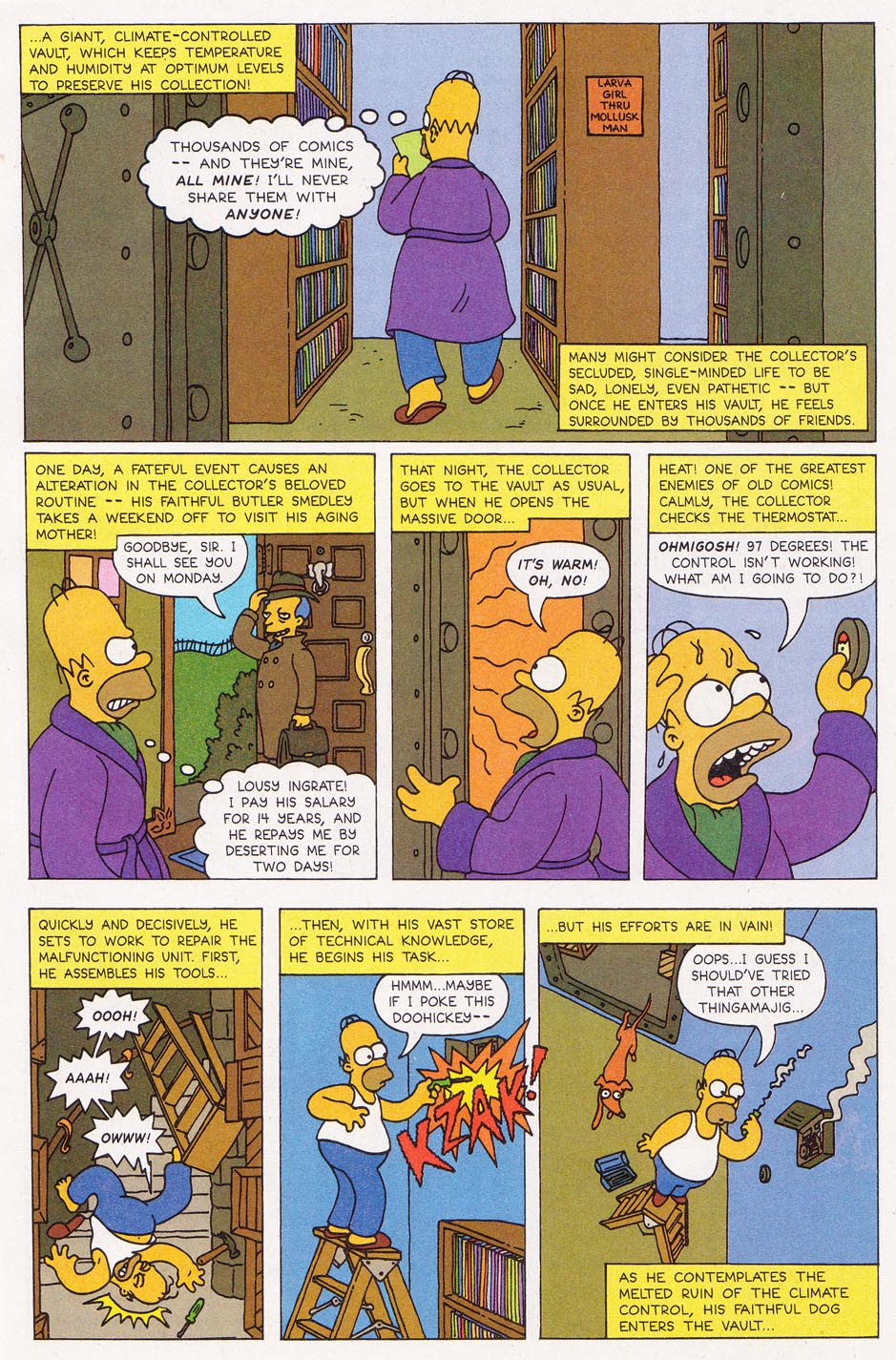 Read online Simpsons Comics comic -  Issue #1 - 30