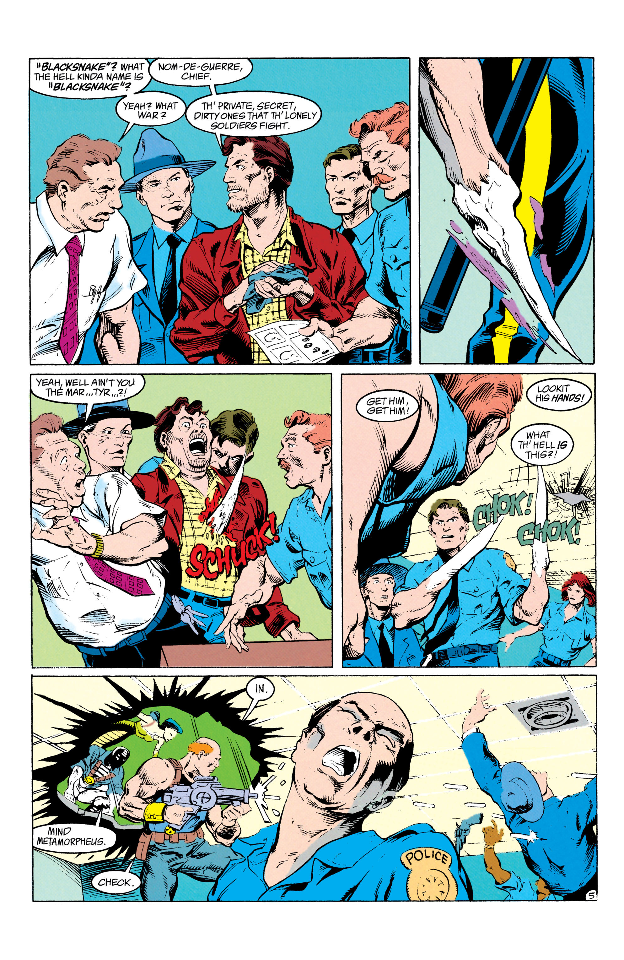 Read online Suicide Squad (1987) comic -  Issue #64 - 6
