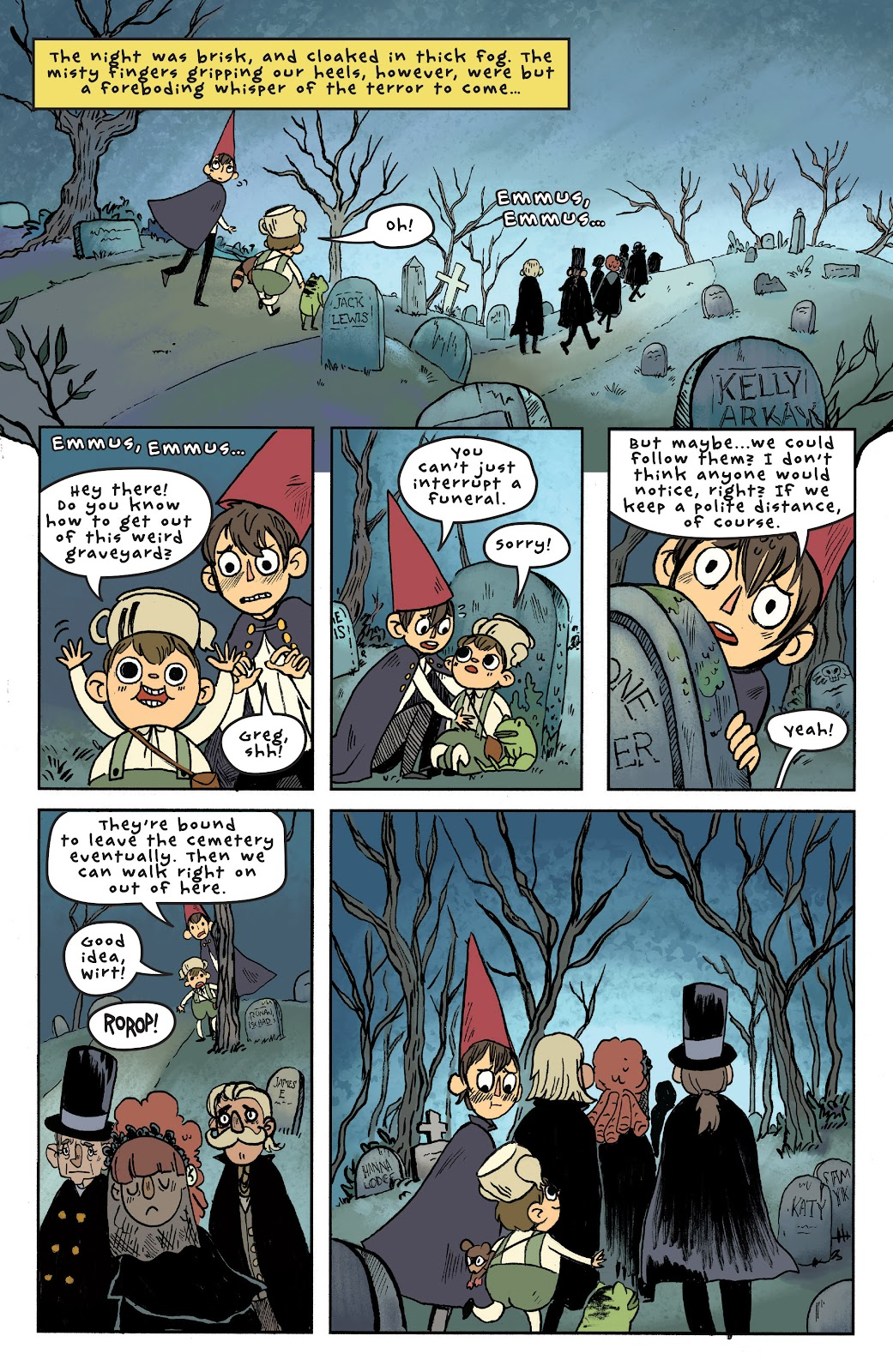 Over the Garden Wall (2016) Issue #6 #6 - English 14