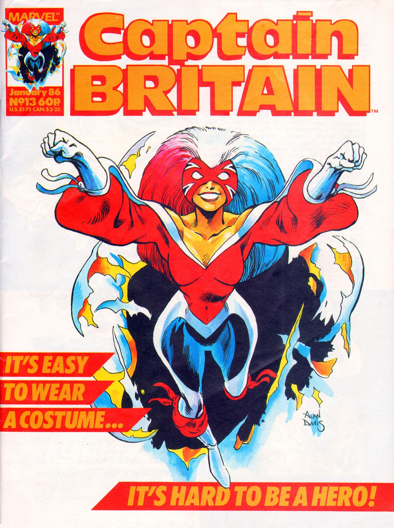 Captain Britain (1985) 13 Page 1