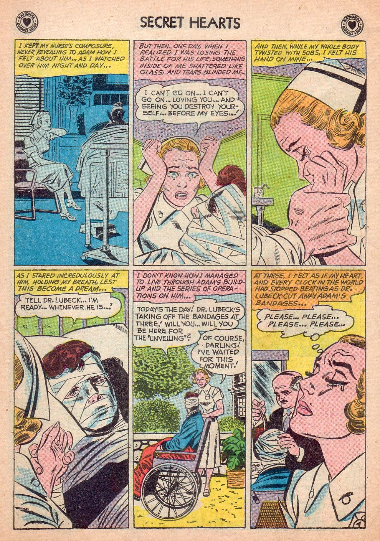 Read online Secret Hearts comic -  Issue #63 - 30