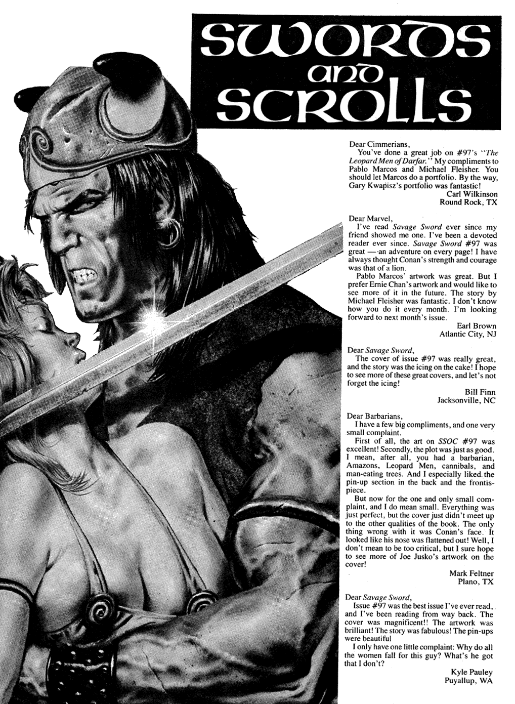 The Savage Sword Of Conan Issue #101 #102 - English 4