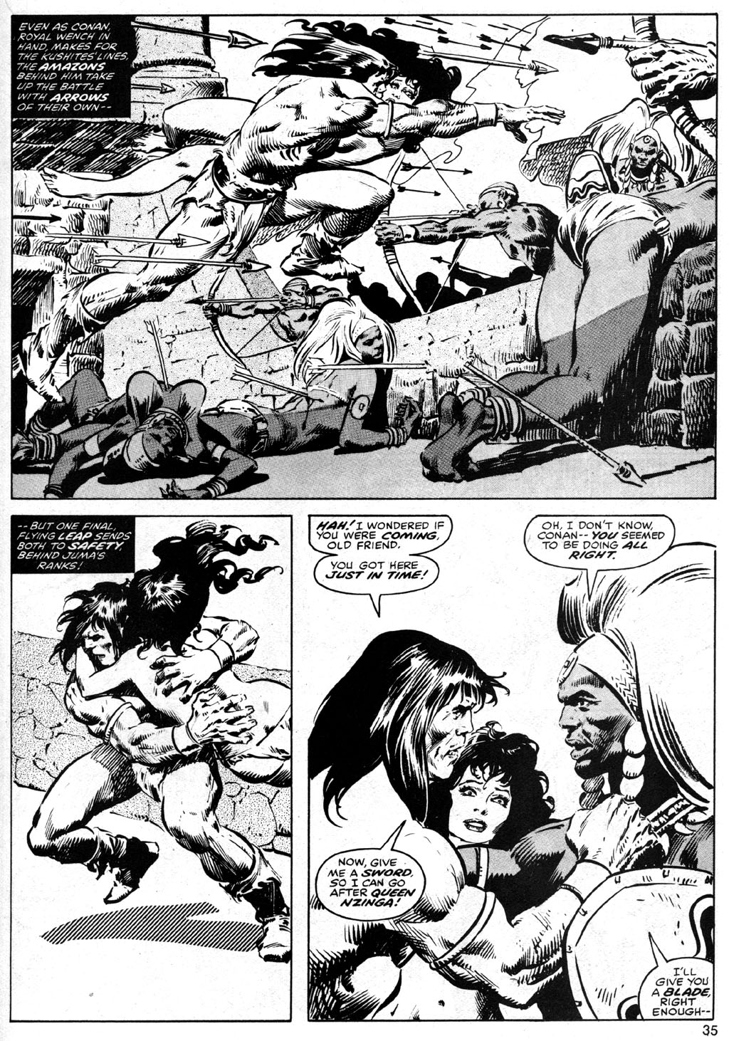 The Savage Sword Of Conan Issue #42 #43 - English 35