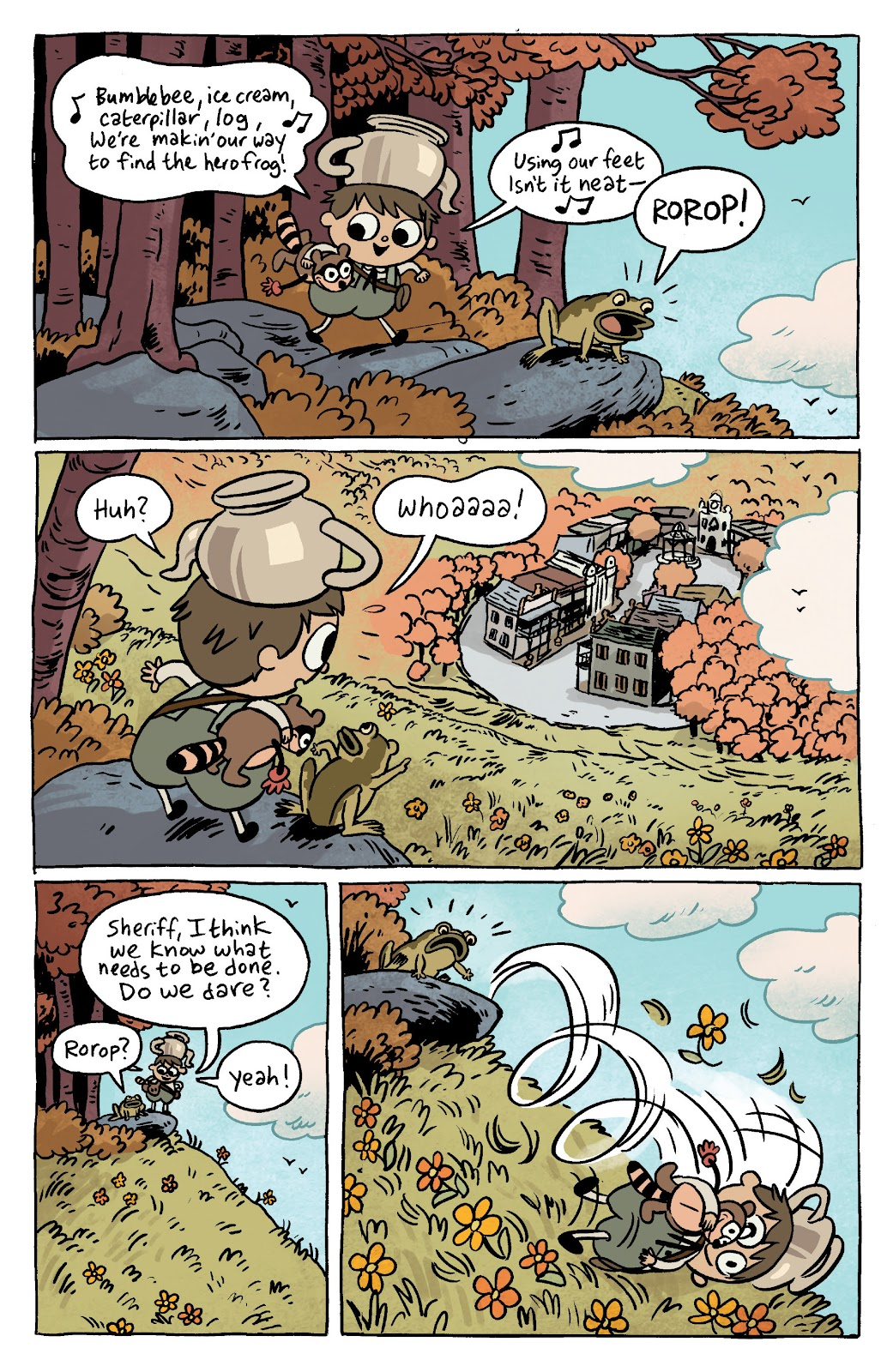 Over the Garden Wall (2016) Issue #7 #7 - English 3
