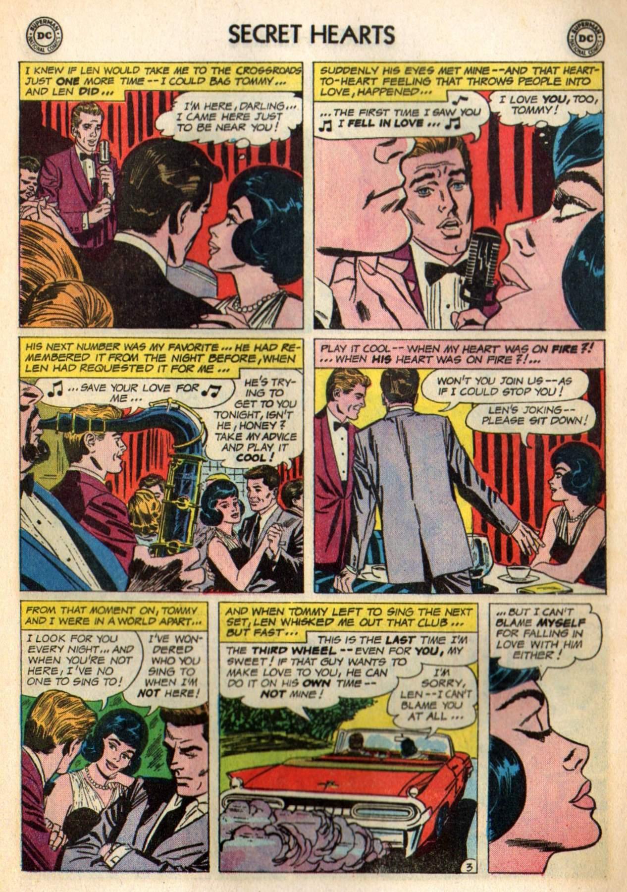Read online Secret Hearts comic -  Issue #98 - 13