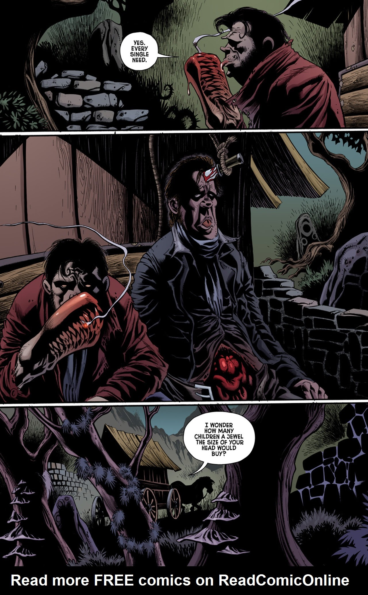 Read online Billy the Kid's Old Timey Oddities and the Orm of Loch Ness comic -  Issue #3 - 5