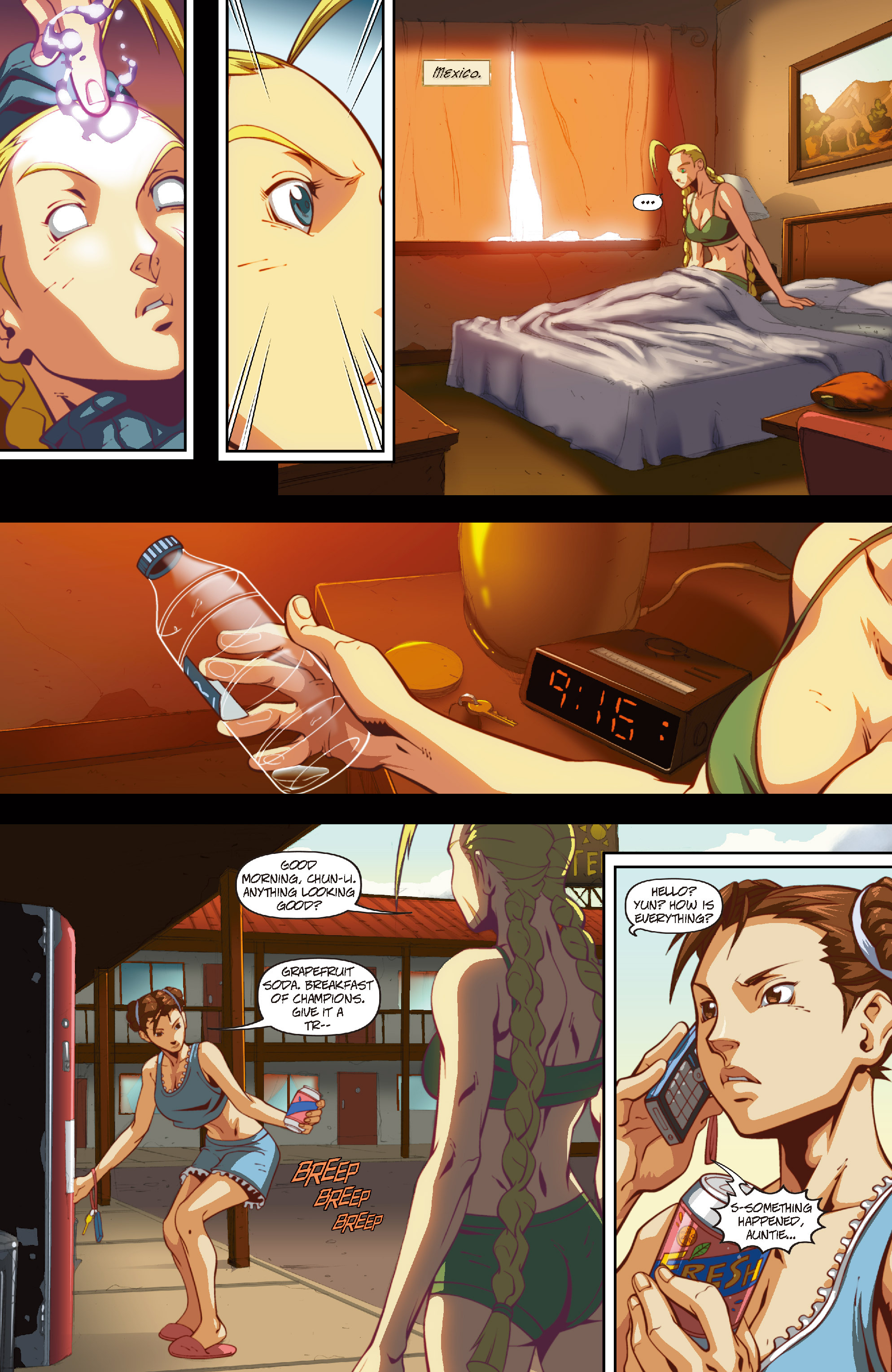 Street Fighter II chap 4 pic 20