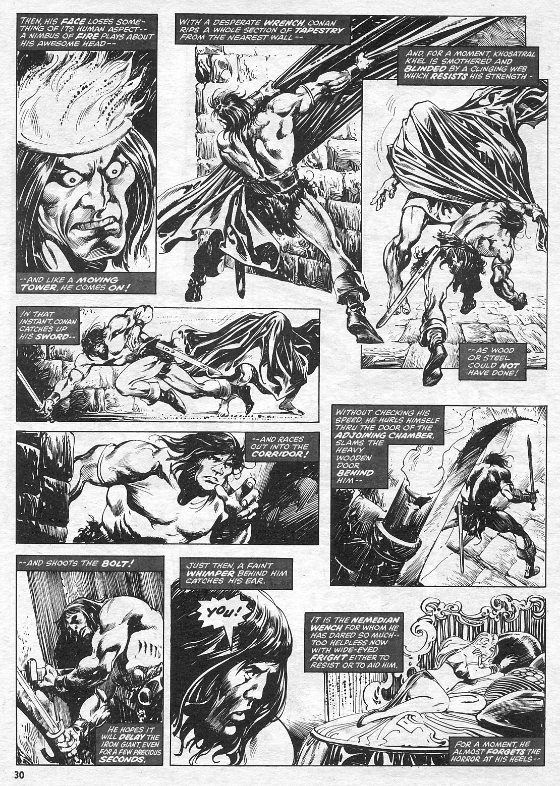 The Savage Sword Of Conan Issue #15 #16 - English 30