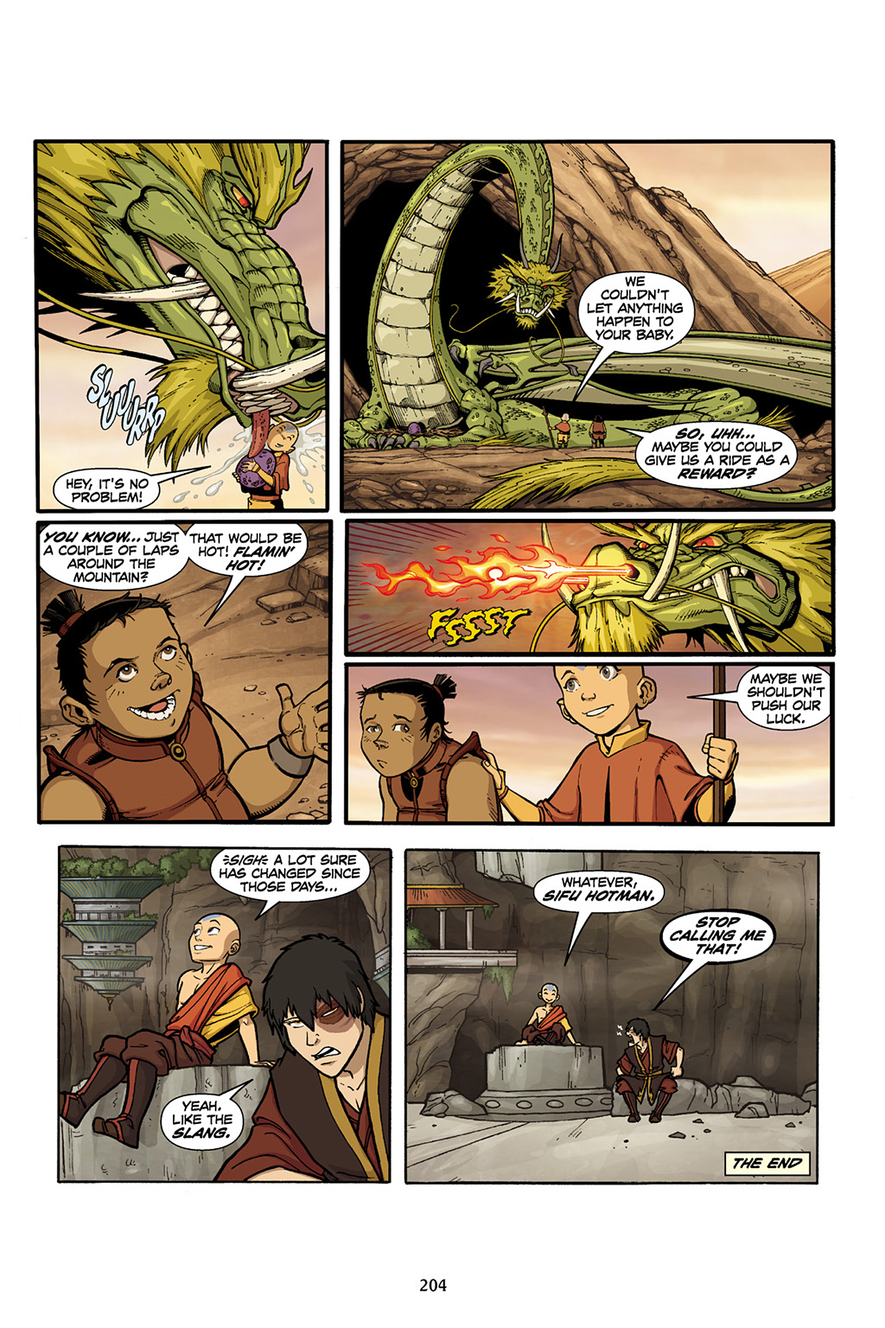 Nickelodeon Avatar: The Last Airbender - The Lost Adventures chap full pic 205