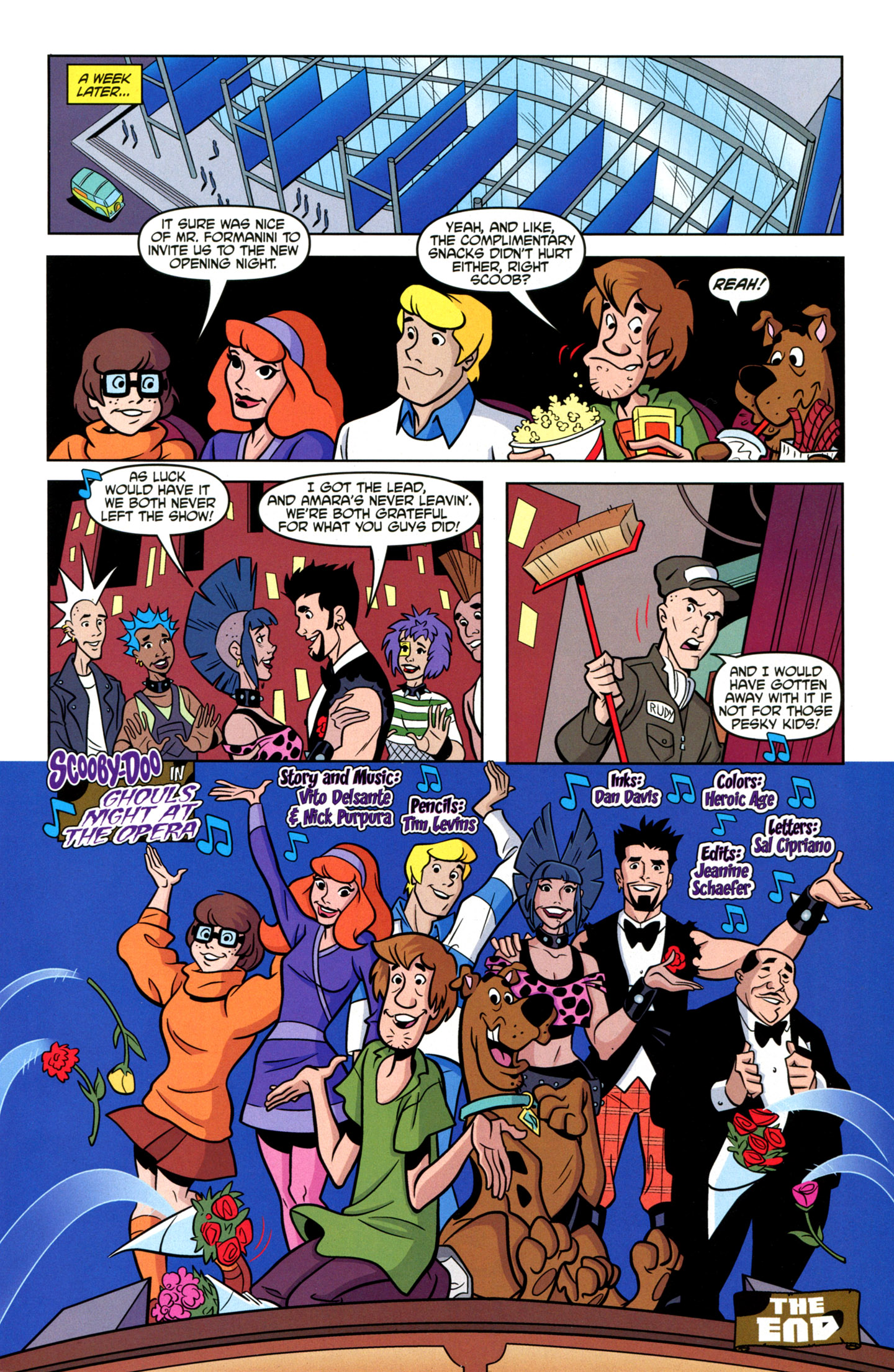 Read online Scooby-Doo: Where Are You? comic -  Issue #20 - 27