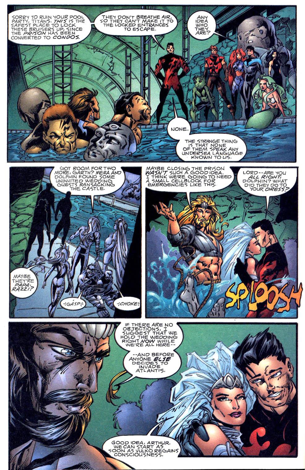 Aquaman (1994) Issue #60 #66 - English 21
