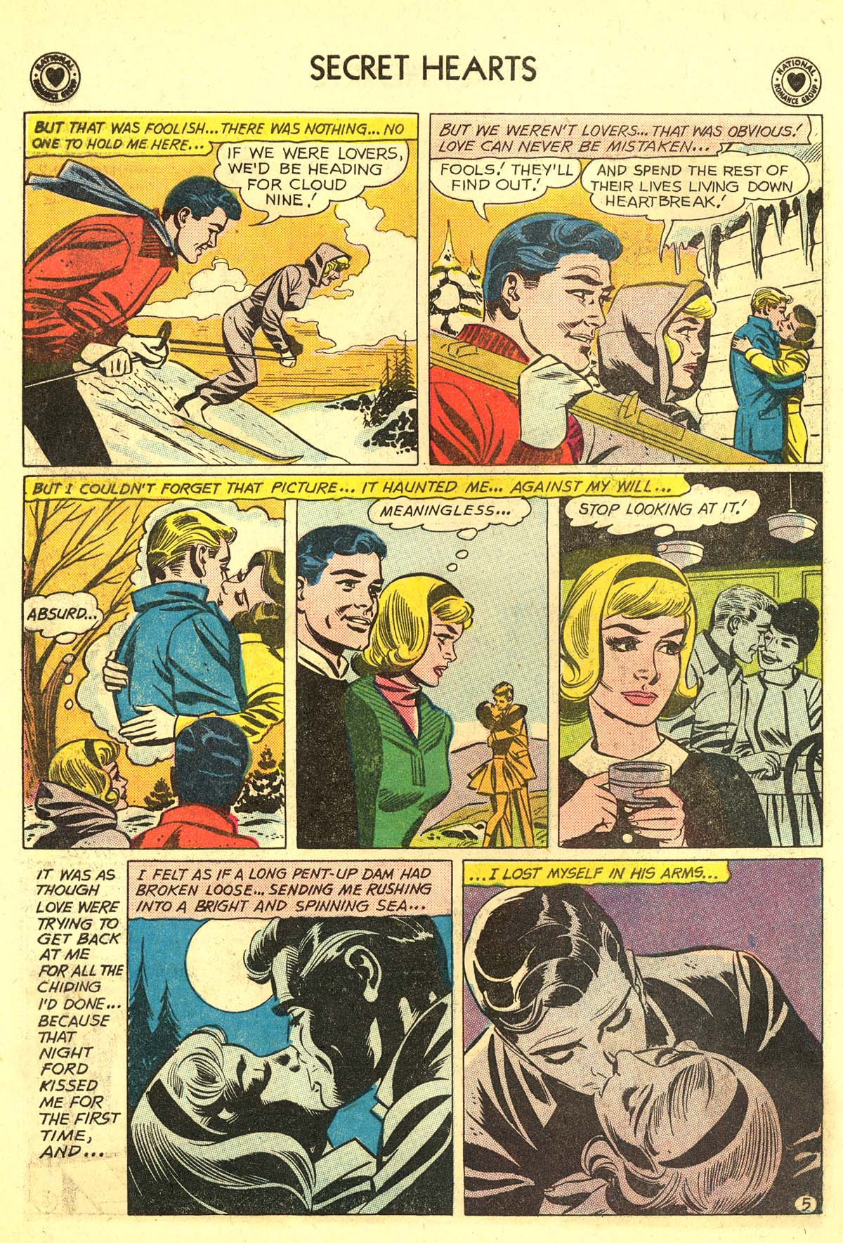 Read online Secret Hearts comic -  Issue #64 - 22