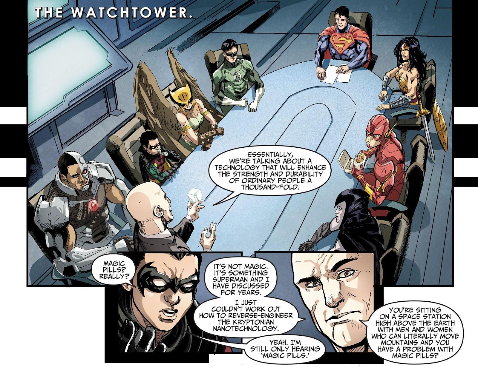 Injustice: Gods Among Us [I] Issue #27 #28 - English 3