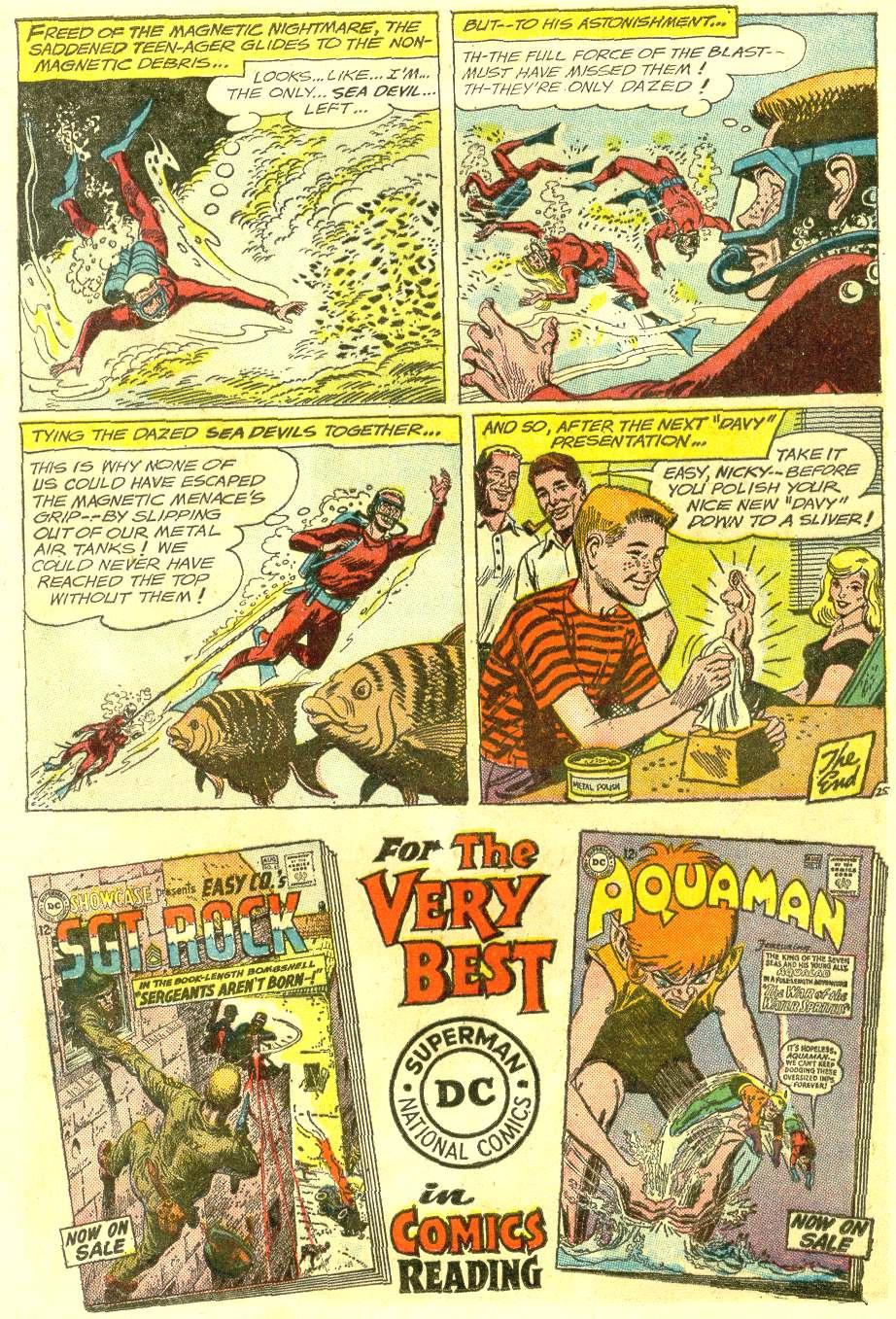 Read online Sea Devils comic -  Issue #12 - 32