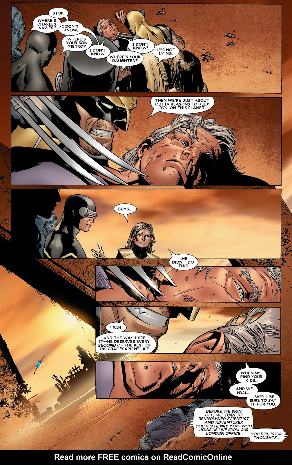 House of M (2005) Issue #8 #8 - English 23