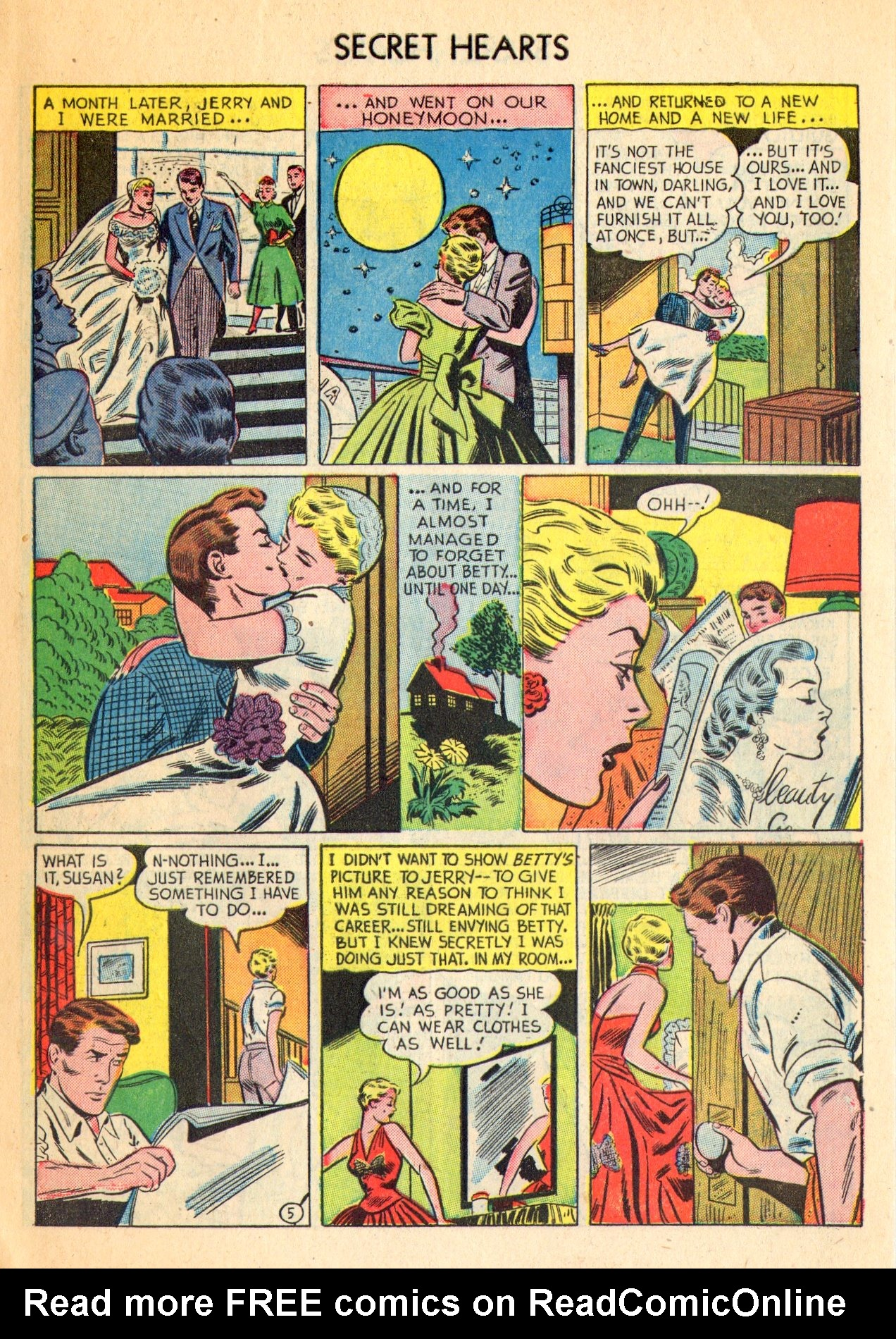 Read online Secret Hearts comic -  Issue #18 - 7