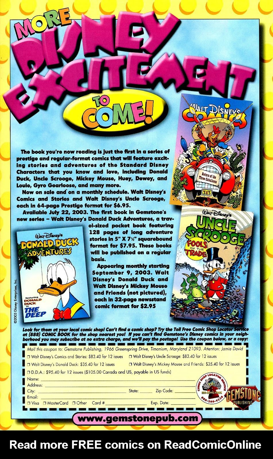 Uncle Scrooge (1953) Issue #319 #319 - English 41