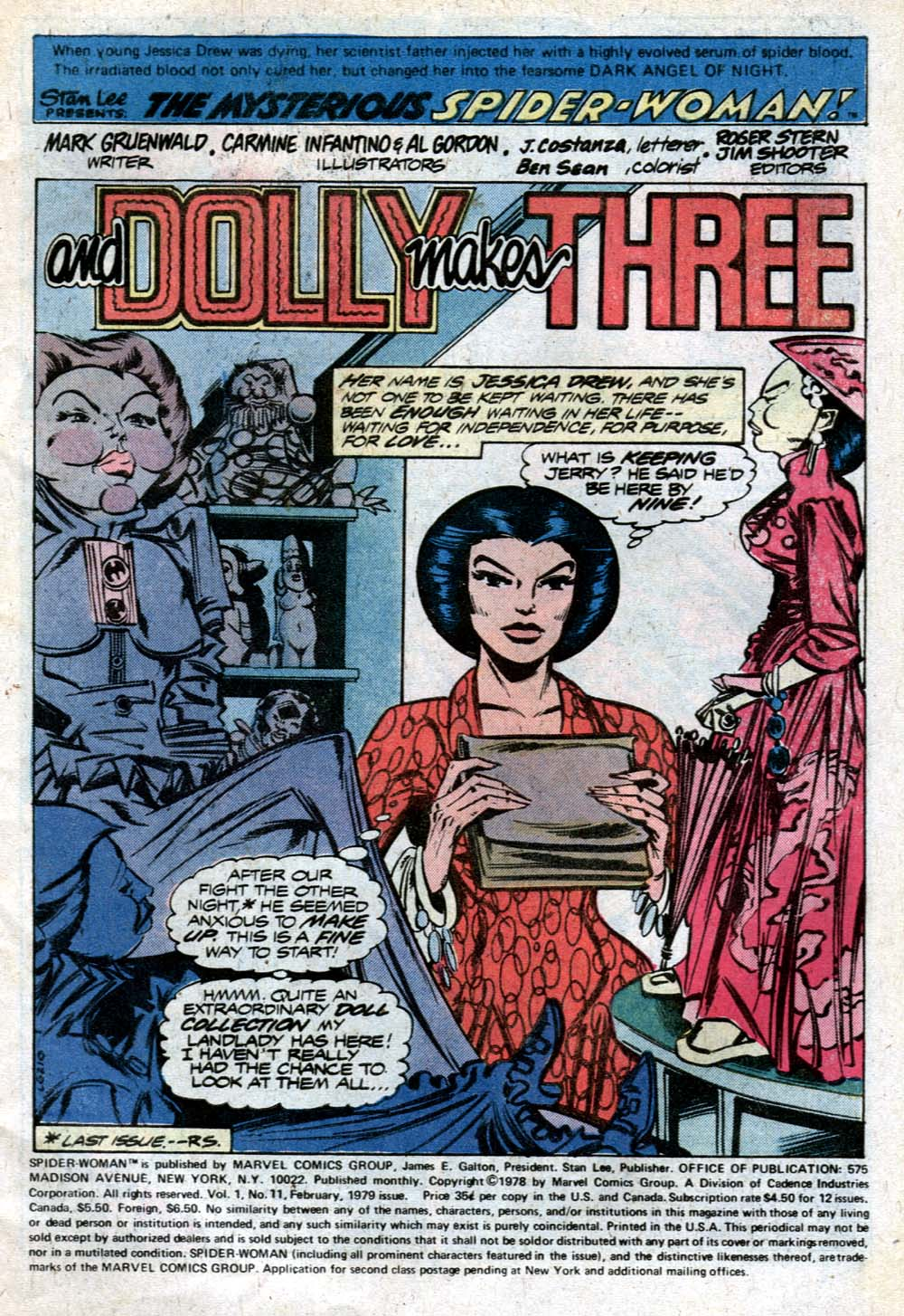 Spider-Woman (1978) Issue #11 #11 - English 2