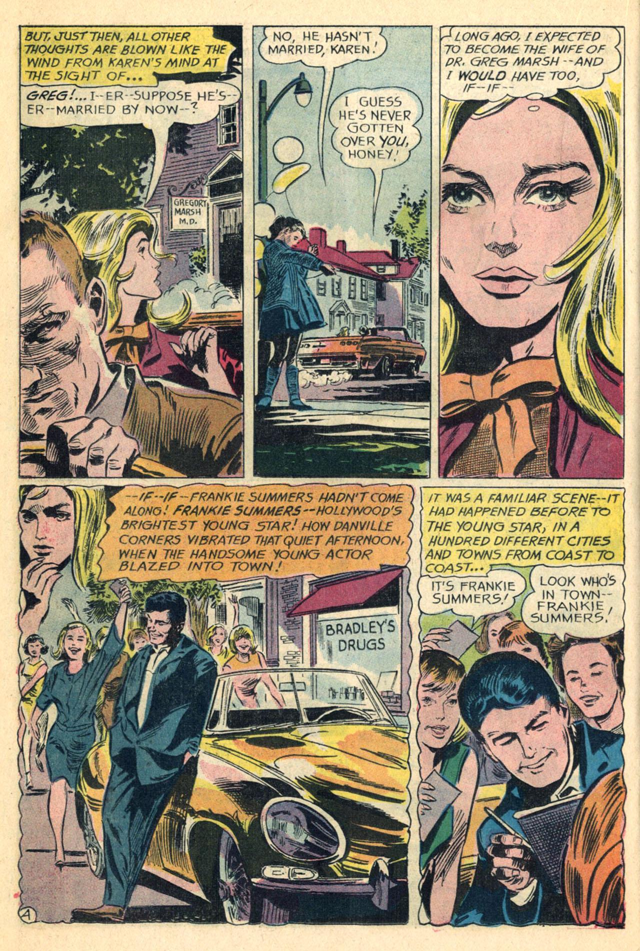 Read online Secret Hearts comic -  Issue #110 - 22