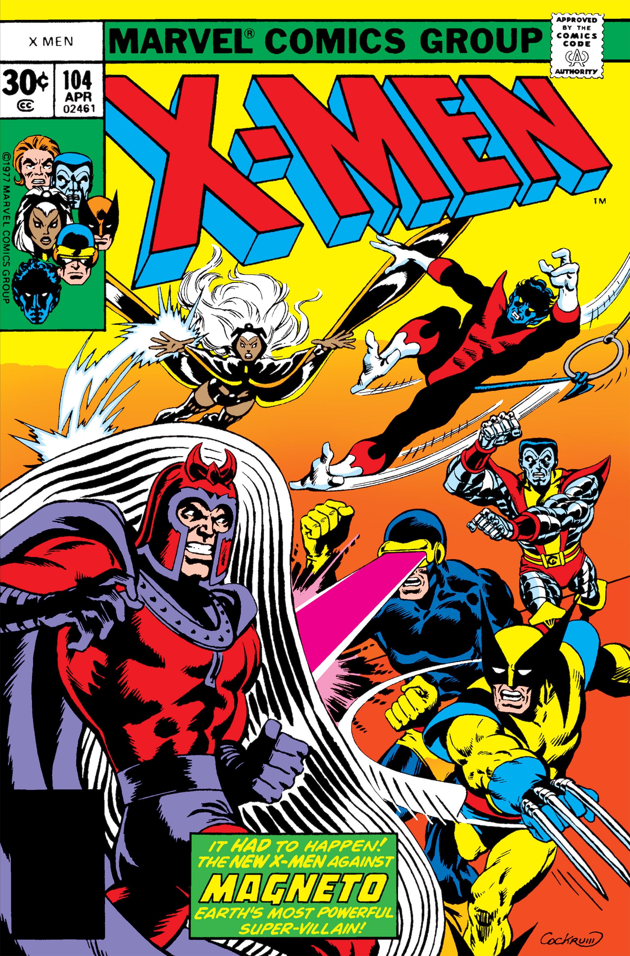 Uncanny X-Men (1963) 104 Page 1