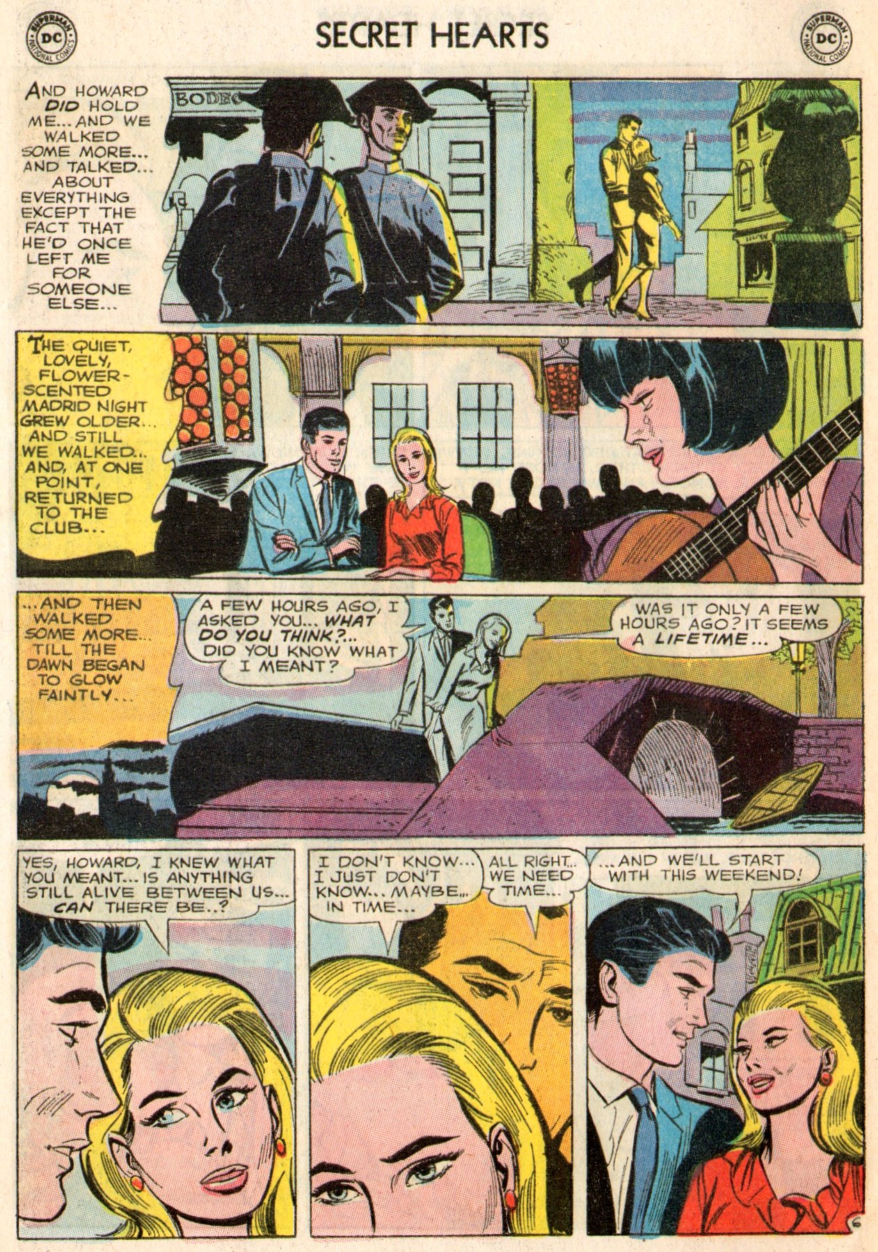 Read online Secret Hearts comic -  Issue #103 - 8