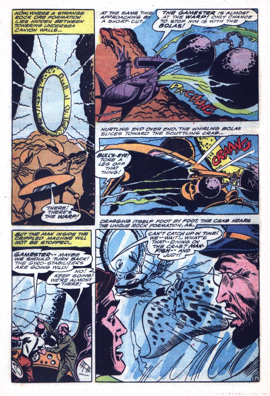 Read online Sea Devils comic -  Issue #26 - 33