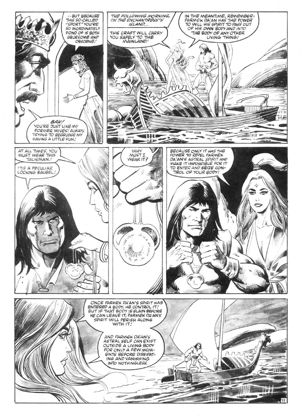 The Savage Sword Of Conan Issue #94 #95 - English 16