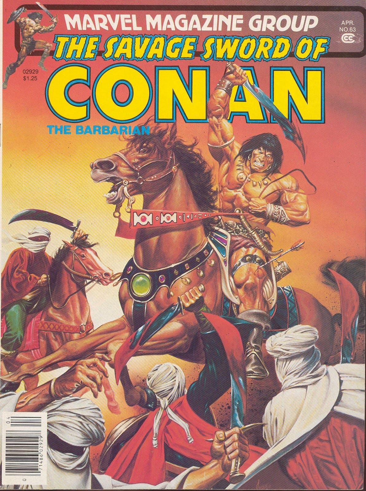The Savage Sword Of Conan Issue #63 #64 - English 1