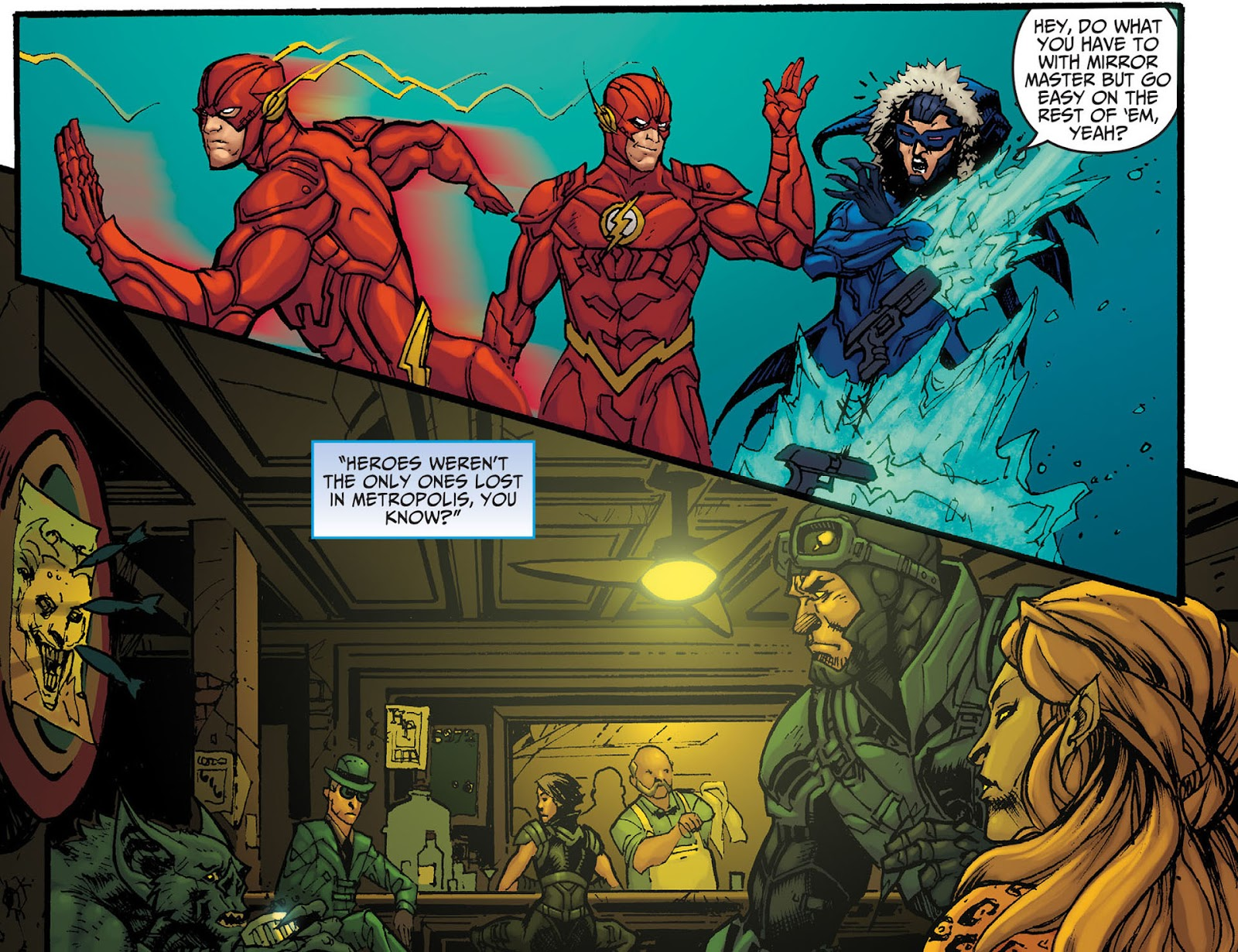 Injustice: Gods Among Us [I] Issue #8 #9 - English 10