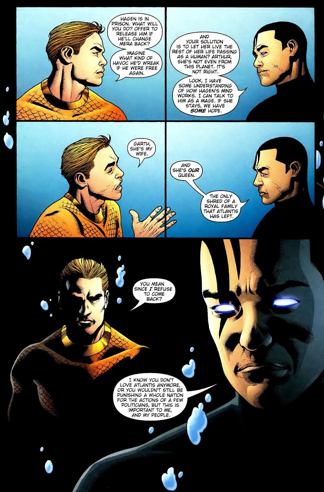 Aquaman (2003) Issue #34 #34 - English 9