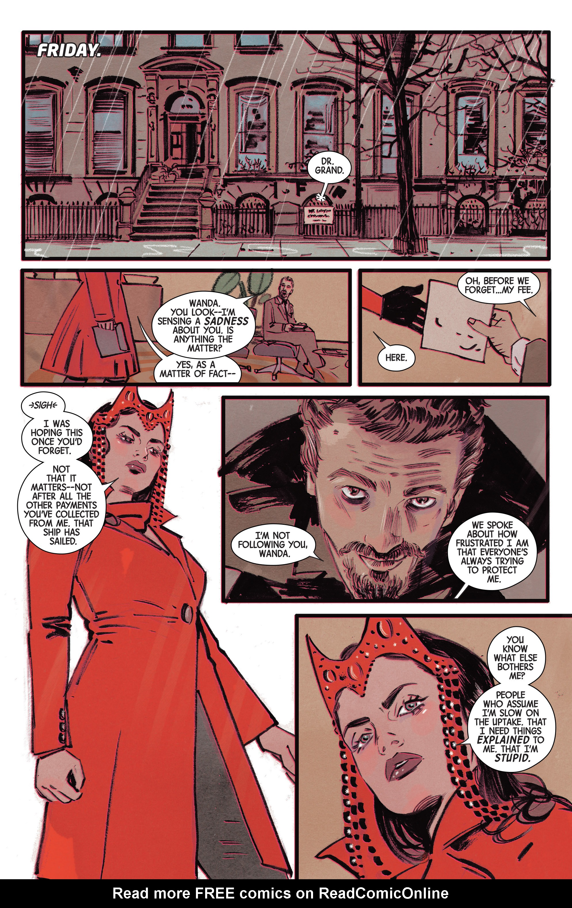 Read online Scarlet Witch (2016) comic -  Issue #8 - 18